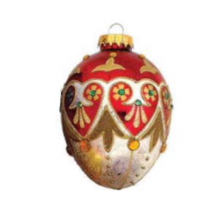 Kerstballen En Kerstartikelen In Het Rood En Roodwit